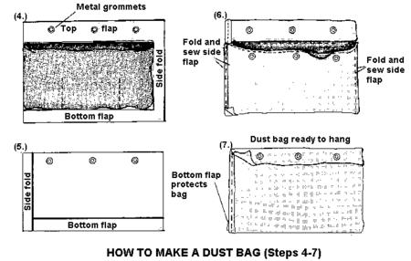 Dust Bag Diagram 2